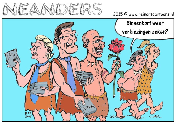 Neander strip - verkiezingen
